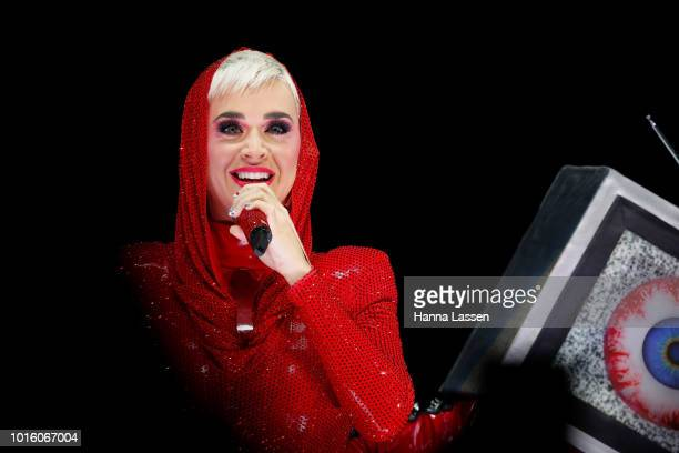Katy Perry performs at Qudos Bank Arena on August 13 2018 in Sydney Australia