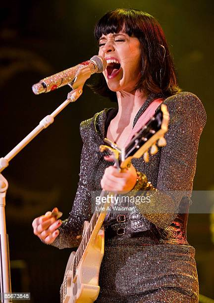 Katy Perry performs at the House of Blues on March 26 2009 in Chicago Illinois
