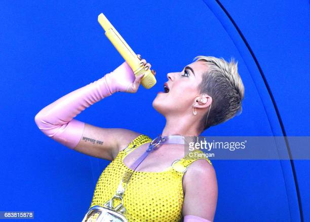Katy Perry performs during 1027 KIIS FM's 2017 Wango Tango at StubHub Center on May 13 2017 in Carson California