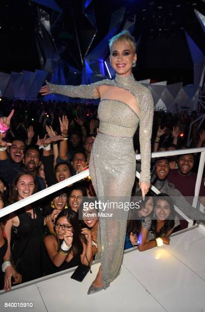 Katy Perry performs during the 2017 MTV Video Music Awards at The Forum on August 27 2017 in Inglewood California