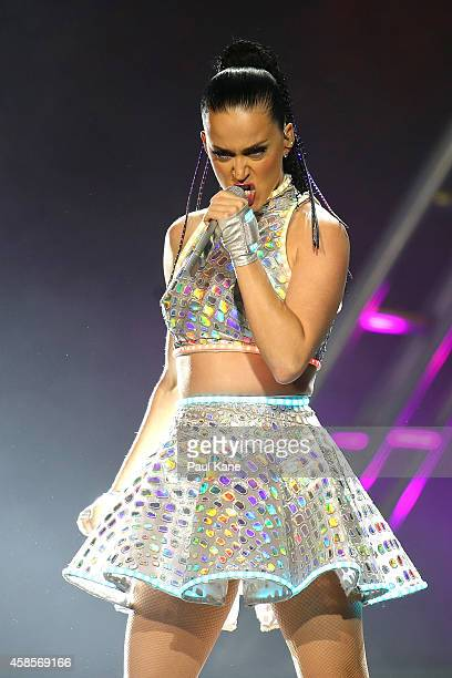 Katy Perry performs live at Perth Arena during her Prismatic World Tour on November 7, 2014 in Perth, Australia.