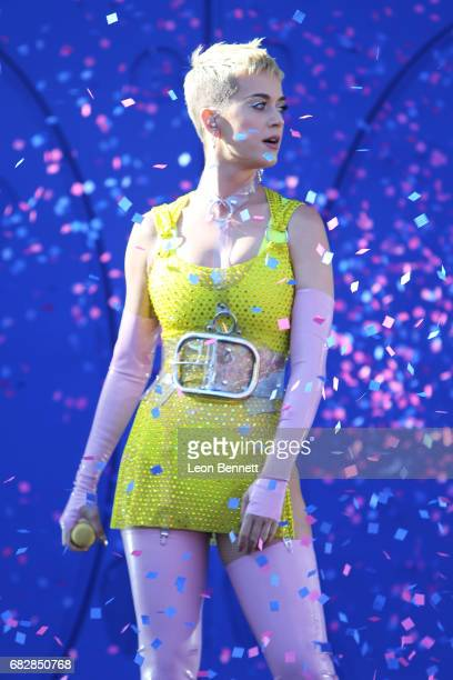 Katy Perry performs on stage at 1027 KIIS FM's 2017 Wango Tango at StubHub Center on May 13 2017 in Carson California
