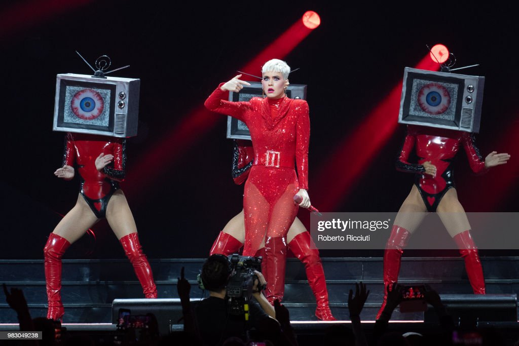 Katy Perry Performs At The SSE Hydro, Glasgow