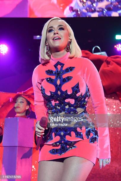 Katy Perry performs onstage during 1027 KIIS FM's Jingle Ball 2019 Presented by Capital One at the Forum on December 6 2019 in Los Angeles California