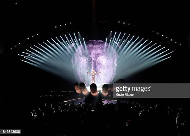 Katy Perry performs onstage during her Witness The Tour tour opener at Bell Centre on September 19 2017 in Montreal Canada