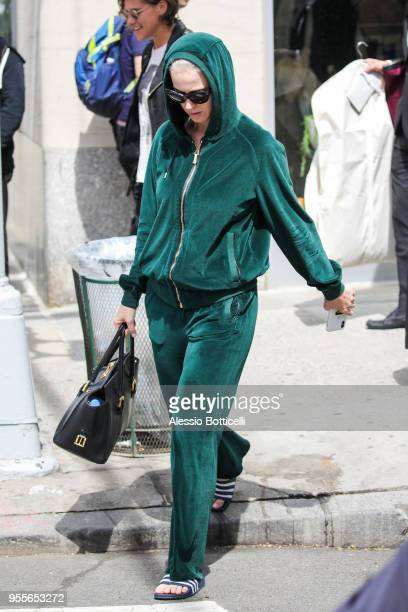Katy Perry seen on May 7 2018 in New York City