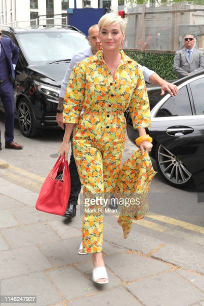 Katy Perry sighting on May 01 2019 in London England