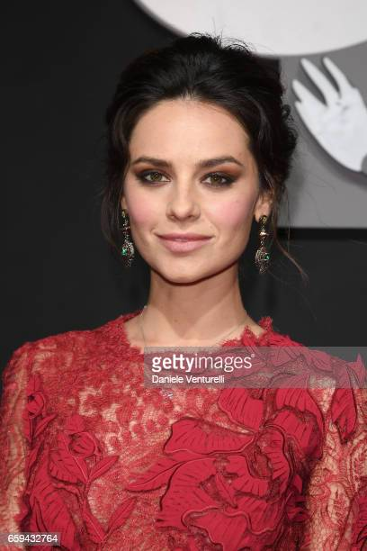 Katy Saunders attends Grand Opening Party Hotel Eden of Hotel Eden on March 28 2017 in Rome Italy