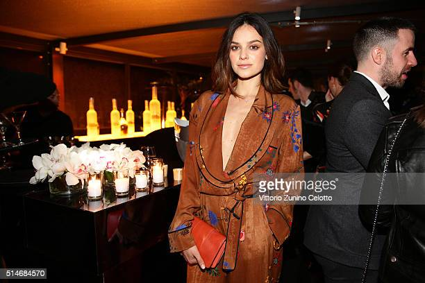 Katy Saunders attends Palazzo FENDI And ZUMA Inauguration on March 10 2016 in Rome Italy