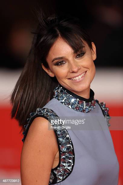 Katy Saunders attends the 'La Foresta Di Ghiaccio' Red Carpet during the 9th Rome Film Festival on October 23 2014 in Rome Italy