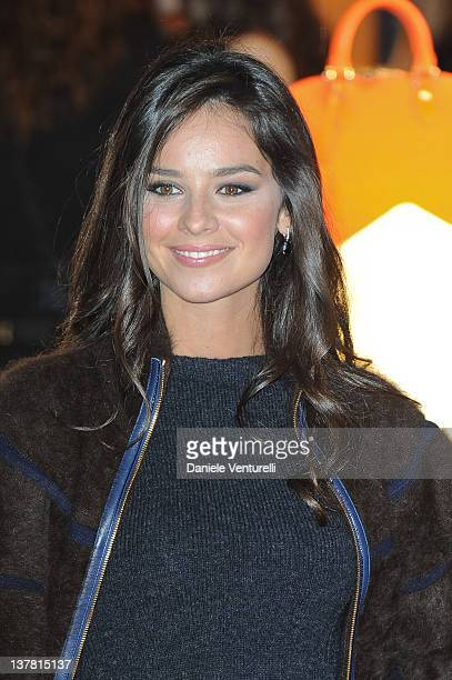 Katy Saunders attends the 'Maison Louis Vuitton Roma Etoile' Cocktail on January 27, 2012 in Rome, Italy.