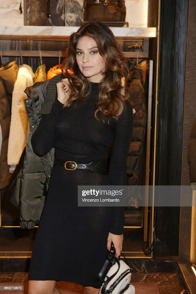 Moncler Flagship Store Opening Cocktail - White Carpet : News Photo