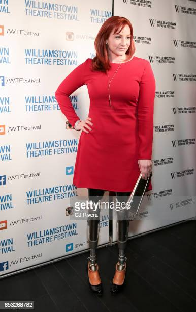 Katy Sullivan attends 2017 Williamstown Theatre Festival Gala at TAO Downtown on March 13 2017 in New York City