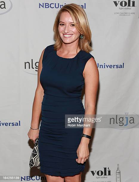 Katy Tur attends National Lesbian And Gay Journalists Association 18th Annual New York Benefit on March 21 2013 in New York United States