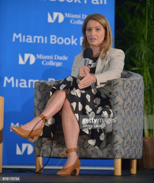 Katy Tur attends The Miami Book Fair at Miami Dade College Wolfson Chapman Conference Center on November 18 2017 in Miami Florida