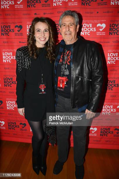 Katy Williamson and Richard Yulman attend Love Rocks NYC PreConcert Cocktail Party at CESCA Restaurant on March 7 2019 in New York City
