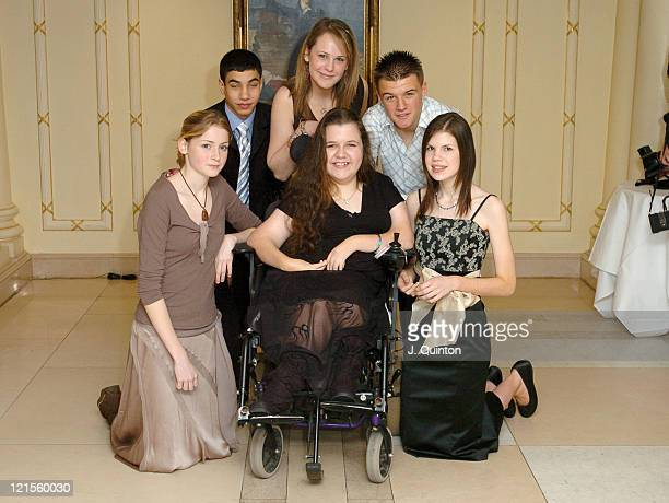 Katy Woolley Marc Branch Emma Campbell Leanne Beetham Danielle Baker and Ben Middleton
