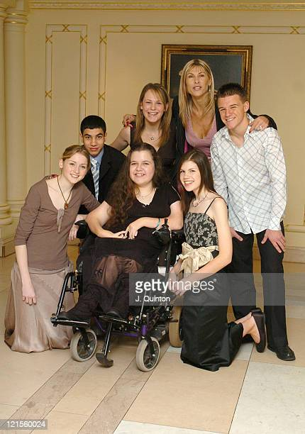 Katy Woolley Marc Branch Emma Campbell Leanne Beetham Sharron Davies Danielle Baker and Ben Middleton