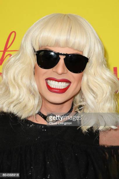 Katya attends the 7th Annual 2017 Streamy Awards at The Beverly Hilton Hotel on September 26 2017 in Beverly Hills California