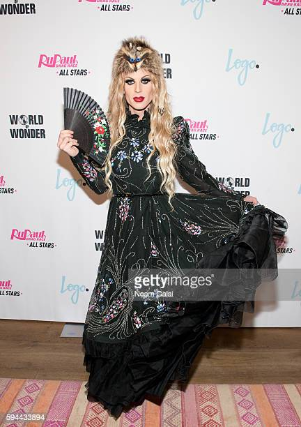 Katya attends the RuPaul's Drag Race All Stars season two premiere at Crosby Street Hotel on August 23 2016 in New York City