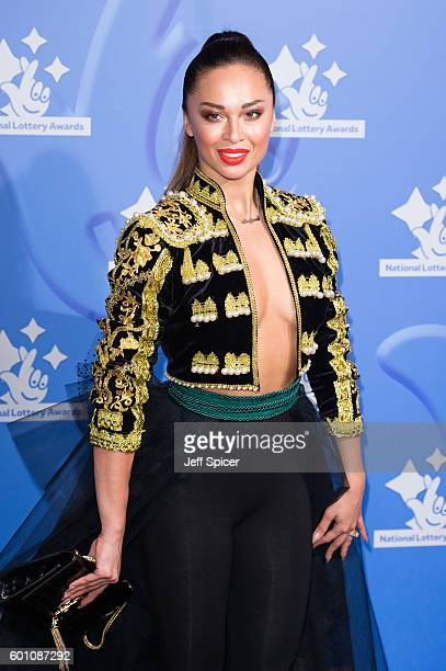 Katya Jones arrives for the National Lottery Awards 2016 at The London Studios on September 9 2016 in London England