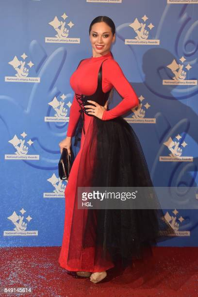 Katya Jones arriving at The National Lottery Awards 2017 at The London Studios on September 18 2017 in London England