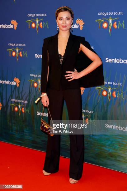 Katya Jones attends the Cirque du Soleil Premiere Of TOTEM at Royal Albert Hall on January 16 2019 in London England