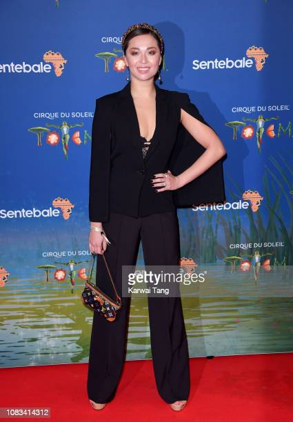 Katya Jones attends the Cirque du Soleil Premiere Of TOTEM at the Royal Albert Hall on January 16 2019 in London England