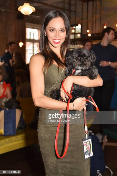 Katya Jones attends the Gala Screening of Alpha at Picturehouse Central on August 19 2018 in London England
