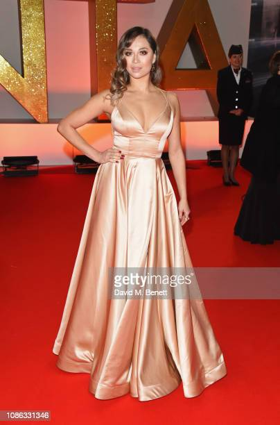 Katya Jones attends the National Television Awards held at The O2 Arena on January 22 2019 in London England