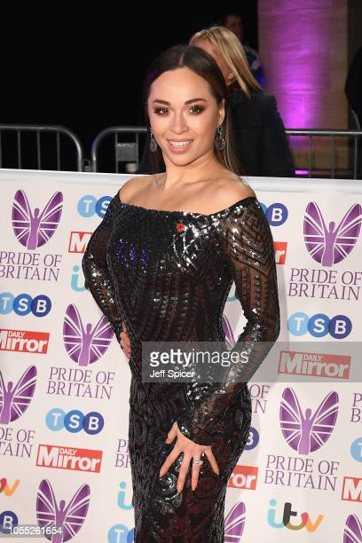 Katya Jones attends the Pride of Britain Awards 2018 at The Grosvenor House Hotel on October 29 2018 in London England