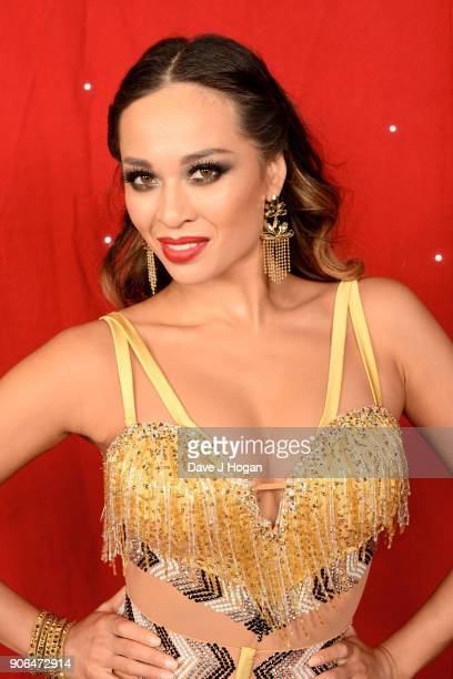 Katya Jones attends the 'Strictly Come Dancing' Live photocall at Arena Birmingham on January 18 2018 in Birmingham England Ahead of the opening on...