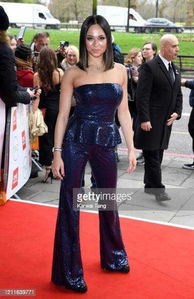 Katya Jones attends the TRIC Awards 2020 at The Grosvenor House Hotel on March 10 2020 in London England