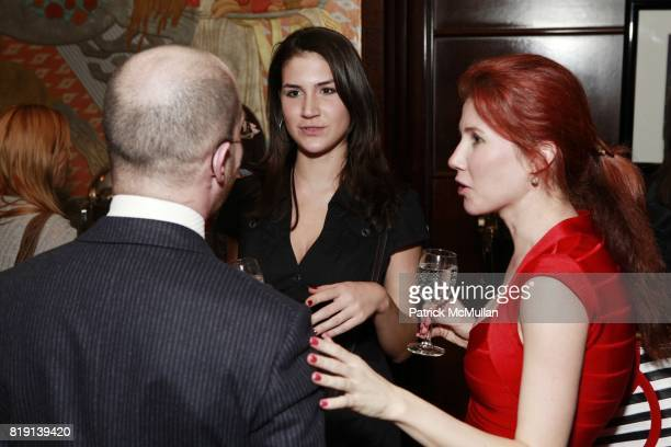Katya Kushenko and Anna Chapman attend Armory Show KickOff Party Hosted By JUMEIRAH ESSEX HOUSE And WHITEWALL MAGAZINE at Essex House on March 2 2010...