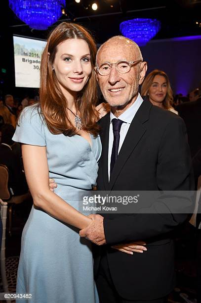 Katya Teper and producer Meir Teper attend Friends Of The Israel Defense Forces Western Region Gala at The Beverly Hilton Hotel on November 3 2016 in...