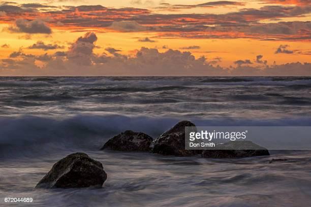 kauai dawn - don smith stock pictures, royalty-free photos & images