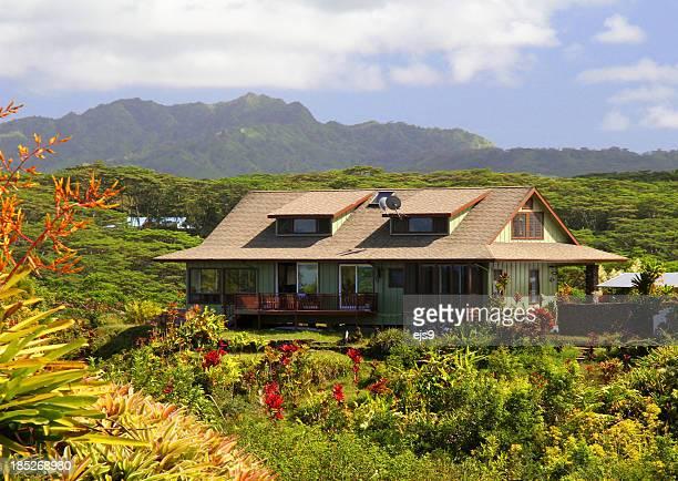 Kauai Hawaii hill side Vacation house
