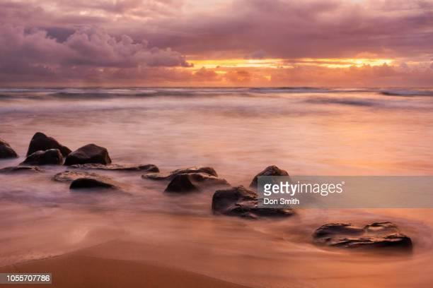 kauai sunrise - don smith stock-fotos und bilder