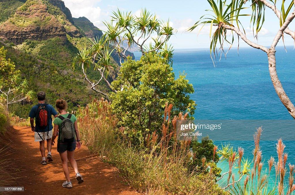Kauai vacation and Kalalau Trail : Stock Photo
