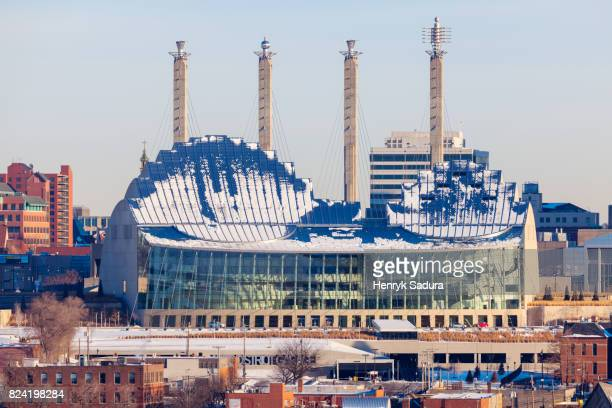 kauffman center for the performing arts in kansas city - performing arts center stock pictures, royalty-free photos & images