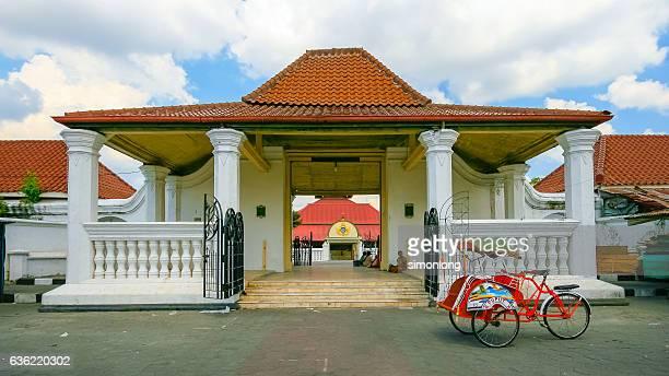 kauman great mosque , yogyakarta , indonesia - yogyakarta stock pictures, royalty-free photos & images