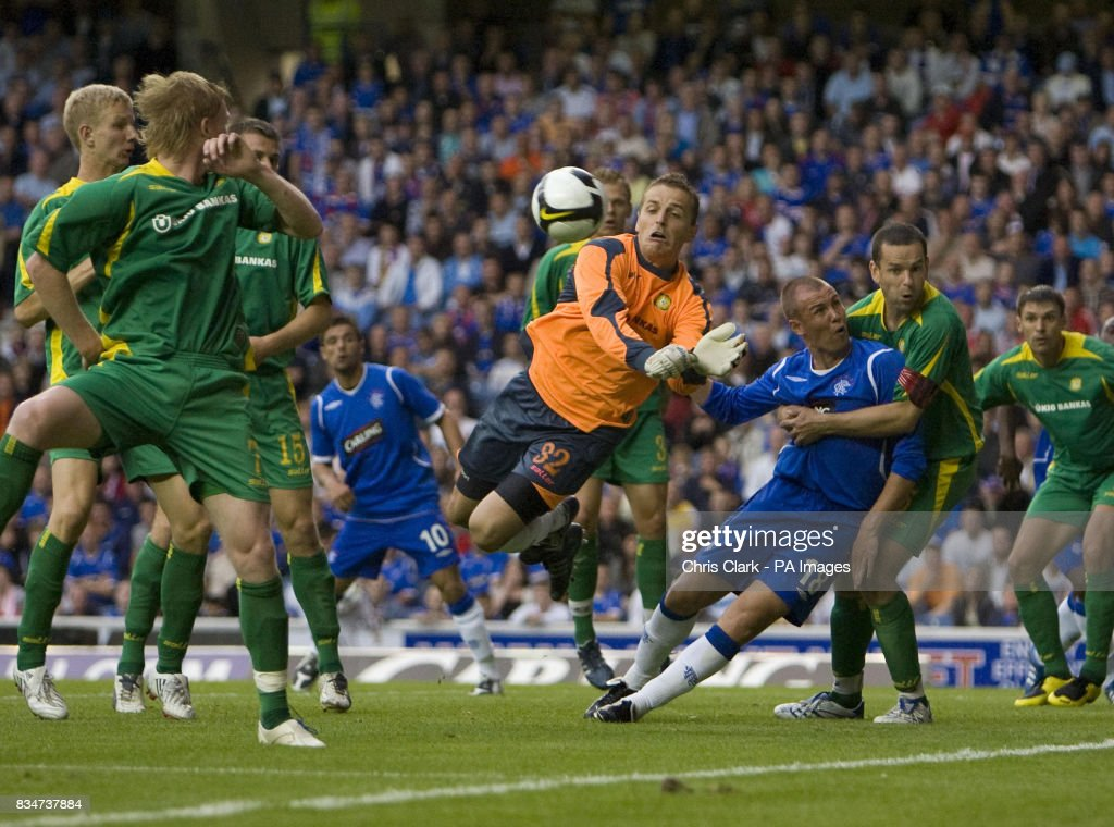 Soccer - UEFA Champions League - Qualifying - Second Round - First Leg -  Rangers v ba1f1fbbf6