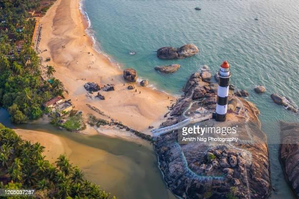 kaup (kapu) beach, karnataka - india summer stock pictures, royalty-free photos & images