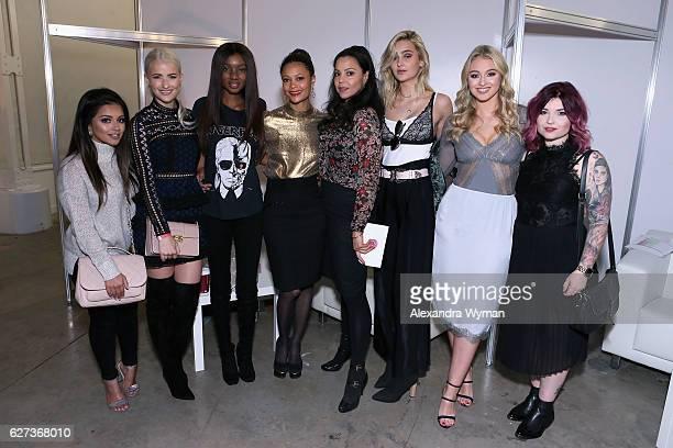 Kaushal Beauty InTheFrow Natasha Ndlovu Thandie Newton Kay Montano Suede Brooks Iskra Lawrence and Helen Anderson attend Beautycon Festival London...