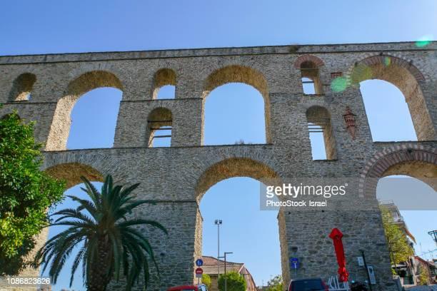 Kavala Aqueduct,  Macedonia, Greece