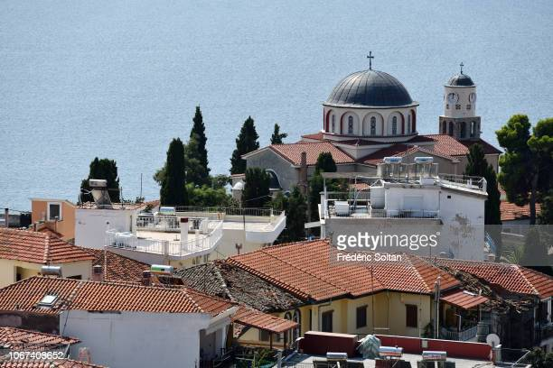 Kavala is a city in northern Greece the principal seaport of eastern Macedonia and the capital of Kavala regional unit on October 10 2018 in Kavala...