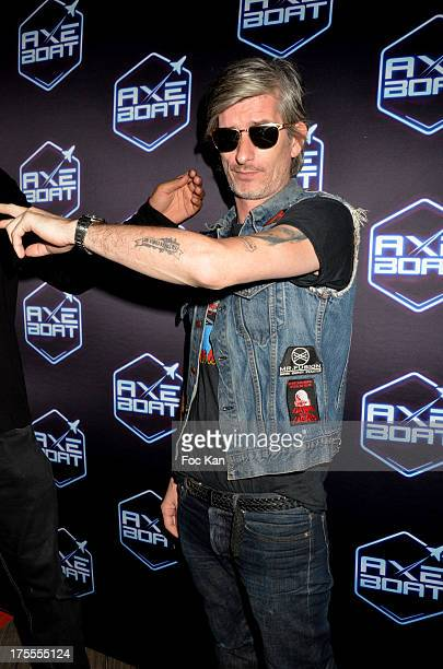 Kavinsky attends the Axe Boat 2013 Launch Party at Cannes Harbourg on August 3 2013 in Saint Tropez France