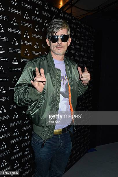 Kavinsky attends the 'Eleven Paris' 11th Anniversary Party as part of Paris Fashion Week Womenswear Fall/Winter 20142015 at Theatre Gaiete Lyrique on...