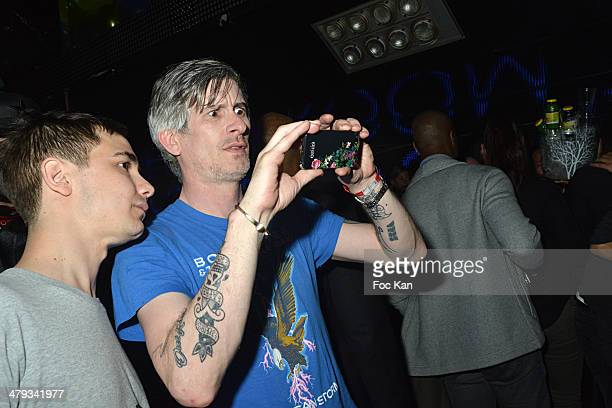 Kavinsky attends the Kavinsky Olympia Concert After DJ Set Party at the VIP Room Theater on March 17 2014 in Paris France