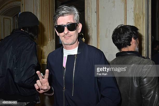Kavinsky attends the 'Vers L'Infini Et Au Dela' Mathieu Cesare Book Launch Cocktail at Lo/A Edition Rue Volney on April 24 2014 in Paris France